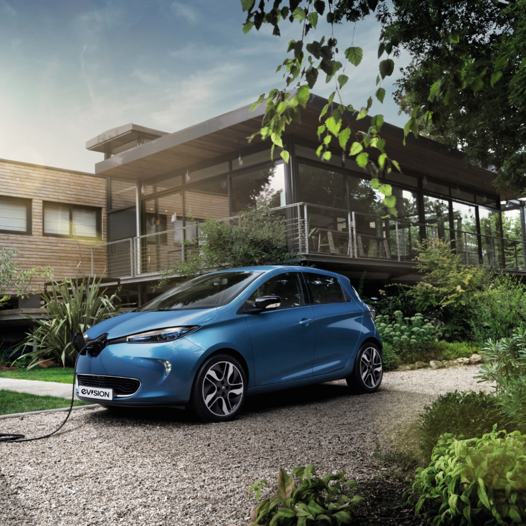 Rent an electric car: Renault ZOE at EVision