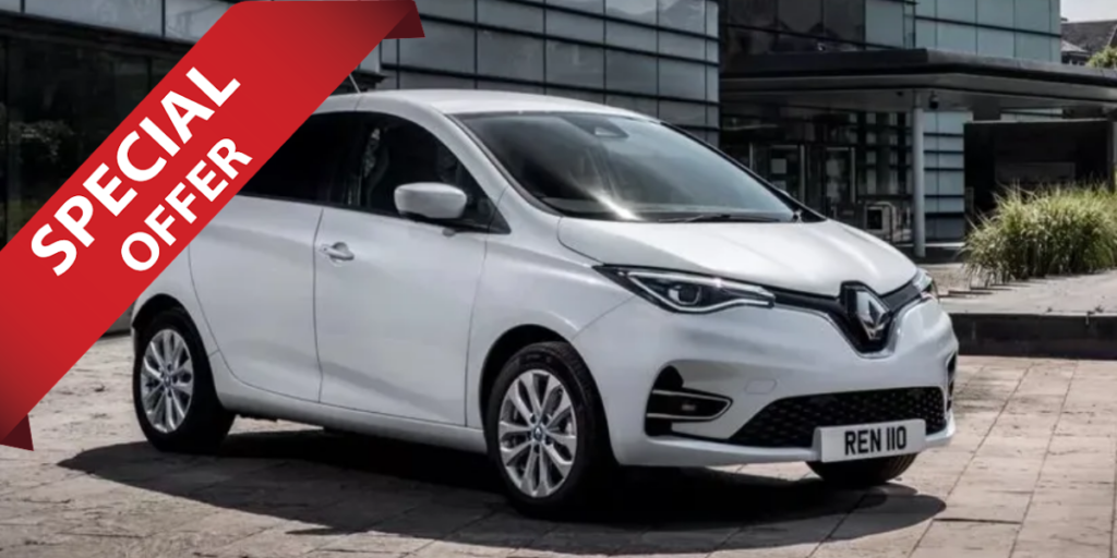 Lease a Renault ZOE at EVision