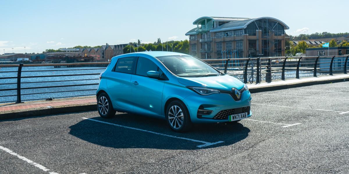 Electric Company Car - Renault ZOE